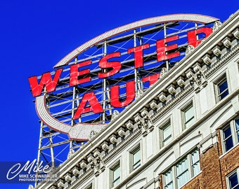 Western Auto #4 - Photograph