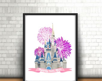Floridian castle print - preorder - august 25th