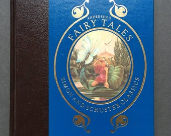Vintage Andersen's Fairy Tales (Simon and Schuster Classics) Hardcover 1983