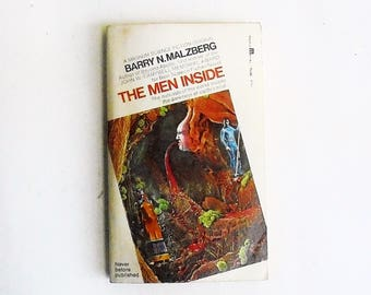 The Men Inside by Barry N. Malzberg (1973, MagnumBooks) Vintage Science Fiction Paperback Book