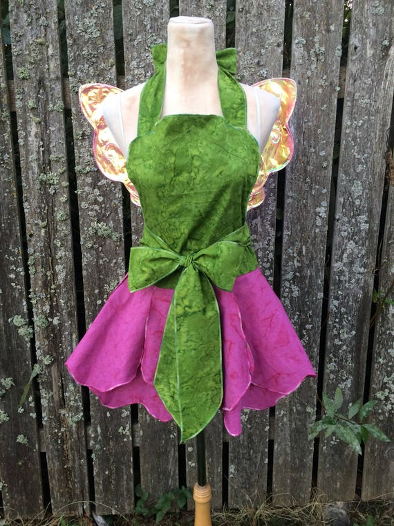 Costume Apron, Fairy Costume Adult, Hostess Apron, Festival Outfit, Fairy Party, Vendor Apron, Entertainer Apron, Cosplay Apron