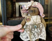 Kit to create Fleur 5.5'' Miniature Teddy Bear