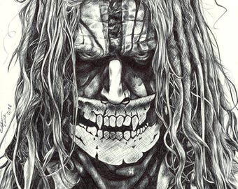 Rob Zombie - Signed Print