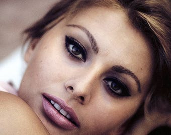 Sophia Loren in a photo from the 1960's