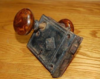 Antique Porcelain Door Knobs antique door knob | etsy