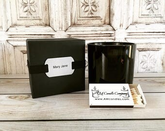 Mary Jane, HIS by AM Candle Company- Soy Candles, Mary Jane Candles, Masculine Scented Candles, Man Cave Candles,Wood Wick Candles,Hemp Seed