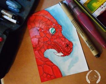 MINI ORIGINAL Red Dragon II