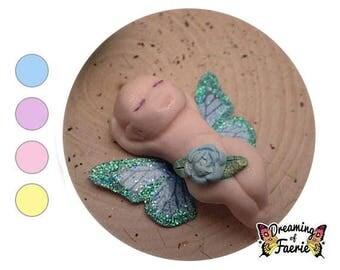Miniature Fairy Garden Babies, Girl Boy Fairy Figurine, Butterfly Fairy Babies, Fairy Garden Flower Fairies, Cute Fairy Garden Decorations
