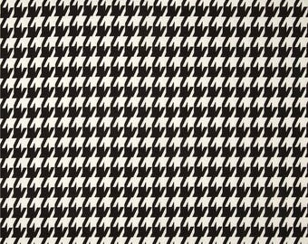 Black Houndstooth Fabric by the BOLT Home Decor Upholstery Premier Prints Emily geometric curtains pillows runners drapes 30 yards!