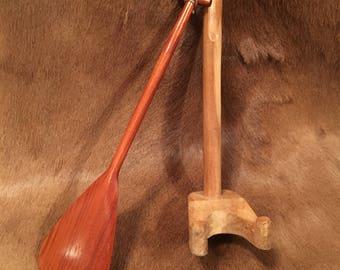 Hand Carved Model of Koa Hawaiian Paddle