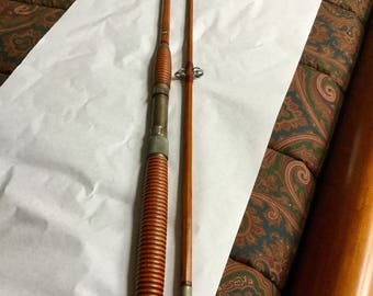 1950's Montague Bamboo Fishing Rod