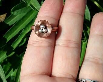 Copper Nest Ring