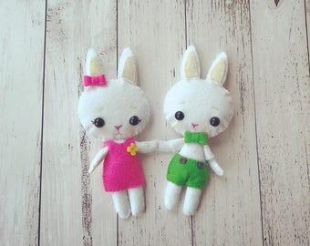 Pocket Bunny Softie