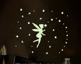 Fairy Wall Decal Etsy