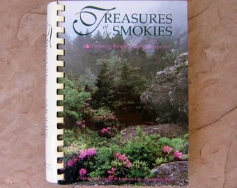 Treasures of the Smokies by The Junior League of Johnson City Tennessee, 1994 Vintage Cookbook