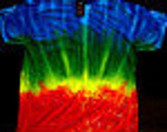 Rainbow Bridge Tie Dye