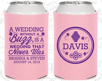 A Wedding Without a Buzz is a Wedding that Never Was, Wedding Party Favors, Romantic Wedding Favors, Rehearsal Dinner Favors (487)