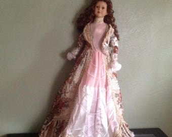"50% off Summer Sale Collectible Hollys Genuine Handcrafted & Handpainted Doll - 32"" tall"