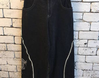 Vintage Jnco Baggy Flare Dragon Jeans