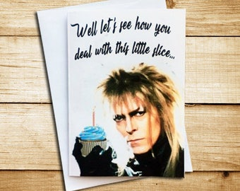 Labyrinth Birthday Card