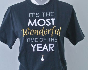 It's the Most Wonderful Time of the Year shirt, Christmas tees, Christmas gift, short Sleeve shirt