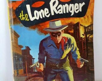 ON SALE! Vintage Lone Ranger Comic Book, Dell Comics, Vol. 1 No. 108 June 1957