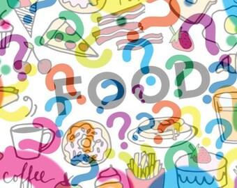 NEW! Felt Food Mystery Pack