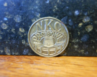 NKC Pro Bowl medal/token Kansas City Kings, Chiefs, Royals