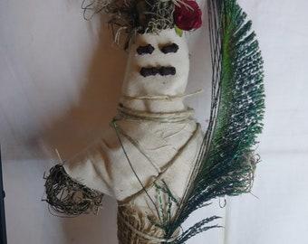 HooDoo Doll (red) pagan