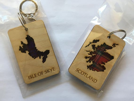 Scotland Map    or    Isle of Skye Map key ring