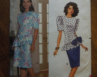 Butterick 5253, sizes 6-10, dress, UNCUT sewing pattern, craft supplies