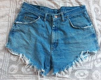 SUMMER SALE Wrangler  Frayed Denim Shorts