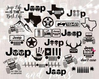 DIGITAL DOWNLOAD svg png jeep svg car decal yeti decal bundle svg oscar mike jeep hair jeep life texas svg jeep girl star wars svg
