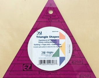 EZ Easy 60 degree Equilateral Triangle Quilting Template