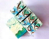 Salty Sailor Organic Luxury Body Bar / Handcrafted Natural Soap / Goats Milk Soap / Cream Soap / Organic Ingredients / Whipped Upp Soap