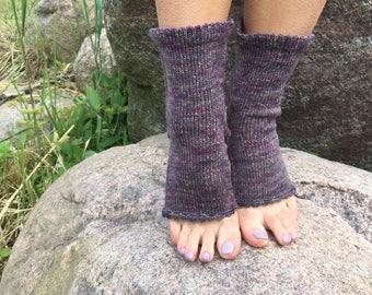 Yoga Socks Hand Knit Pilates Socks multicolored  Socks Dance Socks Slipper Socks Women Socks  Colorful Hipster Socks Yoga active wear