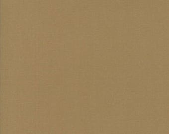 BELLA SOLIDS - Paper Bag Brown - Solid Blender Cotton Quilt Fabric - from Moda Fabrics - 9900-40 (W4404)
