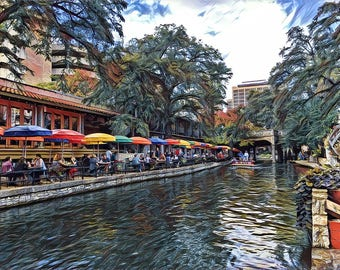 Riverwalk,SanAntonio,Texas,Fine Art Print,Photography,Wall Art,