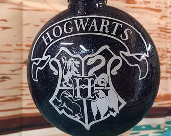 Harry Potter Hogwarts, Christmas  Ornament , Harry Potter fans, harry potter, great gift for Harry Potter fans