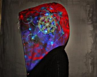METATRON // Custom Organic Cotton Hood