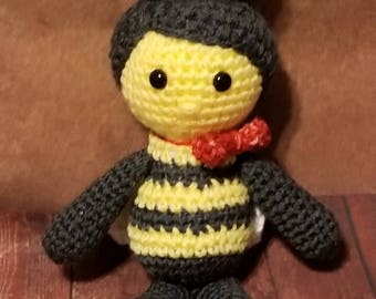 Billy the Bumble Bee crochet pattern