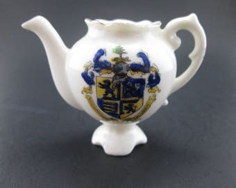 Vintage Crested Ware Bournemouth Teapot