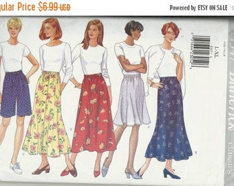 25% OFF Butterick  4347  Misses Skirts and Shorts           Size lg- xlg (16,18,20,22)    Uncut