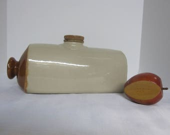 Stoneware Foot Warmer Vintage