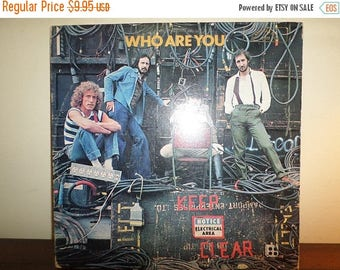 Save 30% Today Vintage 1978 LP Record The Who MCA Records 3050 Who Are You Excellent Condition 11369