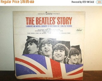 Save 30% Today Vintage 1971 Vinyl LP Record Set The Beatles Story Apple Records STBO-2222 Excellent Condition 10294