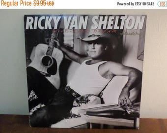 Save 30% Today Vintage 1987 Vinyl LP Record Ricky Van Shelton Wild Eyed Dream Very Good Condition 15071