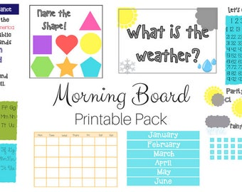 Morning Board Printable Pack
