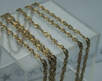 "9ct Gold 20"" Chain"