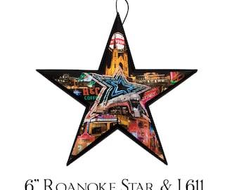 """6"""" Roanoke Star & J 611"""